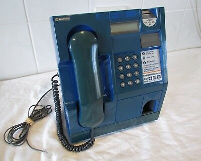 Collectable 1990's Telecom 'Blue Phone' Australian Payphone public telephone