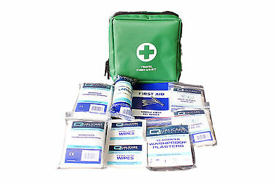 Travel Emergency First Aid Kit - 1 Person (QF1100BOX) HSE Compliant Holiday