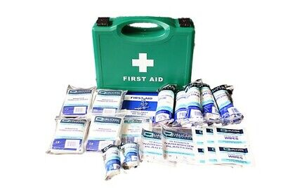HSE Compliant 1 - 10 Person Emergency First Aid Kit (QF1110) In Box