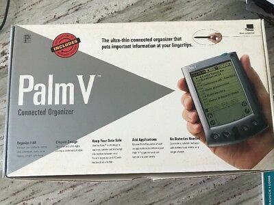 3Com Palm V Organizer with Charging / Sync Cradle and Stylus - PDA