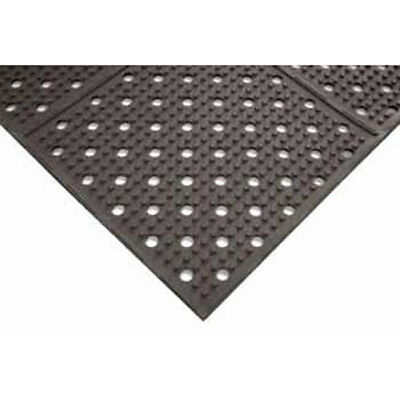 Notrax T23S0036BL Atlantic Drainage Mat 3 ft. Widex6 ft. Deep, Black