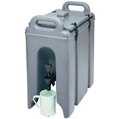 Cambro 250LCD402 Drink Container Insulated, 2-1/2 Gallon, Black