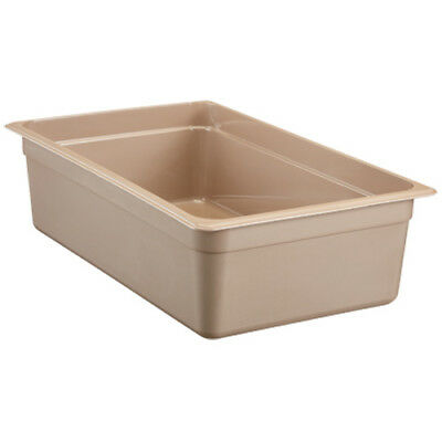 Cambro 16HP150 H-Pan Hot Food Pan, Full-Size, 20-5/8 Quart, Amber