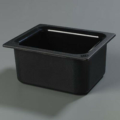 Carlisle CM110103 Cold Food Pan - Coldmaster Half-Size, Black