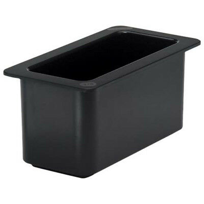 Cambro 36CF110 Cold Food Pan - ColdFest Third-Size, Black