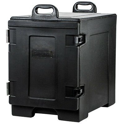 "Carlisle PC300N03 Cateraid Food Pan Carrier, Black, Holds (5) 2-1/2""D Pans"
