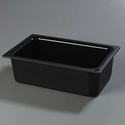 Carlisle CM110003 Cold Food Pan - Coldmaster Full Size, Black