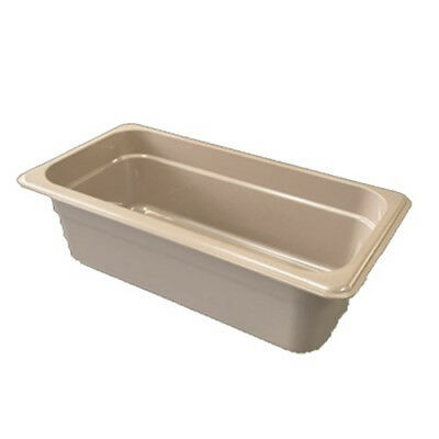 Cambro 36HP772 H-Pan Hot Food Pan, Third-Size, 5-5/8 Quart, Sandstone