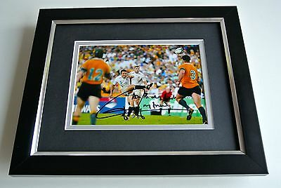 Jonny Wilkinson SIGNED 10X8 FRAMED Photo Autograph Display Rugby World Cup & COA