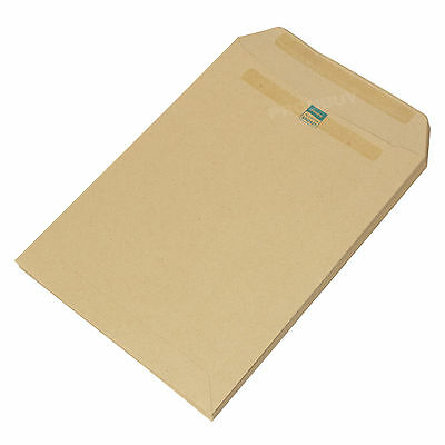 500 x Manilla C5 Envelopes Plain 115gsm Self Seal Strong A5 Brown High Quality