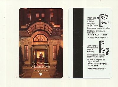 THE JEFFERSON--A Loews Hotel--Washington,DC--Room key--K-85