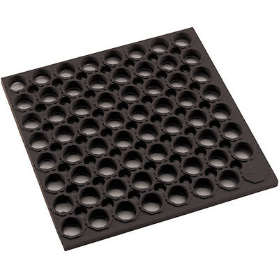 Value Series RBMH-35K Anti-Fatigue Mat - 3 ft. x 5 ft., Flat Edge, Black