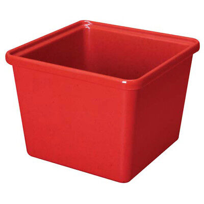 G.E.T. Enterprises ML-149-R Melamine Salad Crock - Square 2 Qt. Cap., Red