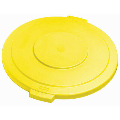 Carlisle 34103304 Flat Lid for Round Bronco Waste Container 269-603, Yellow