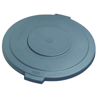 Carlisle 34105623 Flat Lid for Round Bronco Waste Container 269-607, Gray