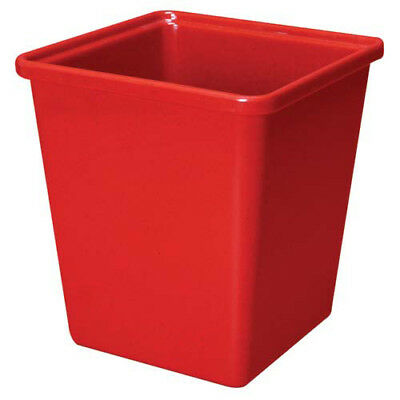 G.E.T. Enterprises ML-150-R Melamine Salad Crock - Square 3 Qt. Cap., Red