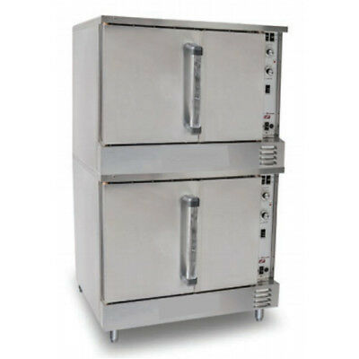 Value Series LP Gas Convection Oven, Double Stack
