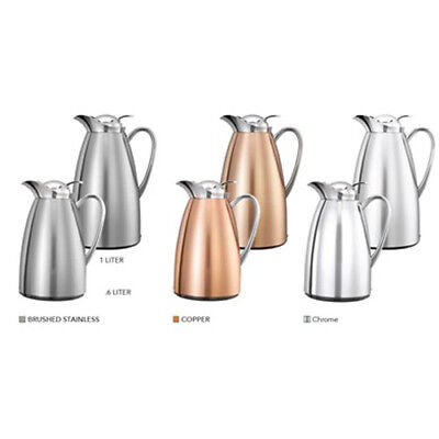20 oz. Stainless Steel Lined Classy Carafe, Chrome