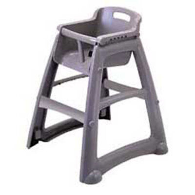Rubbermaid Sturdy Chair Youth Seat with Microban, Plastic without Casters