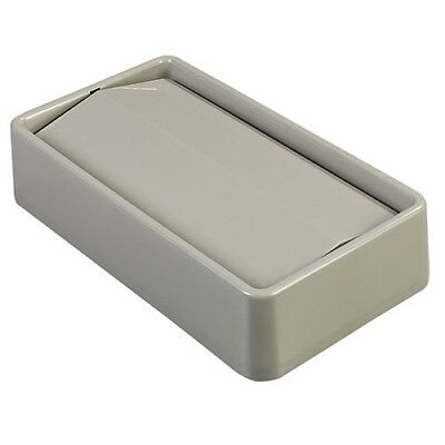 Carlisle 34202423 Swing Top Lid for Wall Hugger Trimline Containers, Gray