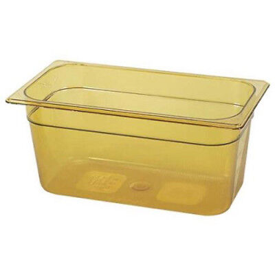 Rubbermaid FG218P00BLA Third Size Multi-Use Hot Food Pan, 5-3/8 Quart, Black