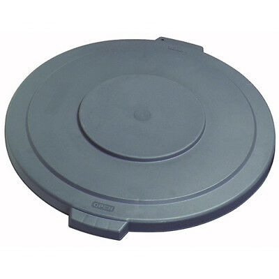 Carlisle 34103323 Flat Lid for Round Bronco Waste Container 269-603, Gray