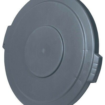 Carlisle 34104523 Flat Lid for Round Bronco Waste Container 269-605, Gray