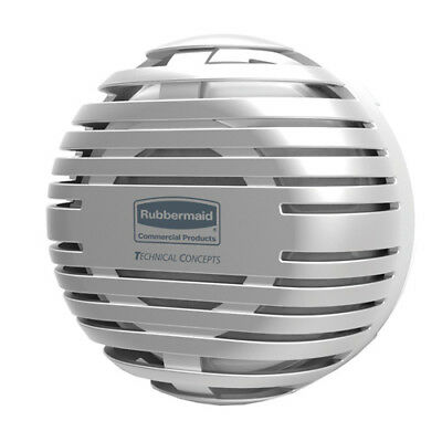 Rubbermaid Passive Air Care T-Cell 2.0 Dispenser, Odor Control, Brushed Chrome