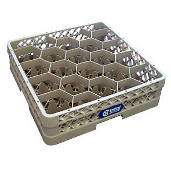 Vollrath TR11GGG Glass Rack 3 Standard Extenders, 20 Compartment