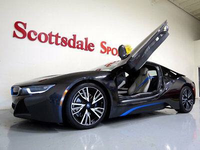 BMW i8 * ONLY 8,620 Miles...Pure Impulse World Pkg. 2014 BMW i8 * 8K MILES * PURE IMPULSE WORLD, SOPHISTO GREY, WHLS, SHRM NEW!!