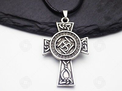 Celtic Cross Pendant Mythical Spiritual Symbolic Necklace Christian Faith Gift