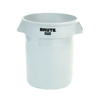 Rubbermaid FG262000GRAY Round Brute Container - 20 Gallon Capacity, Gray