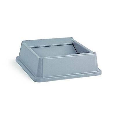 Rubbermaid FG266400GRAY Untouchable Square Container Lid, Gray