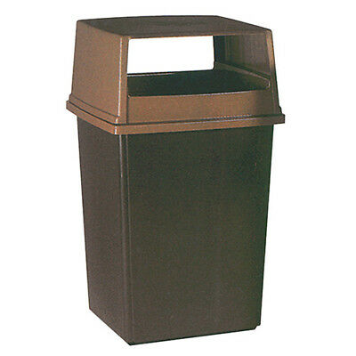 Rubbermaid FG256V00BRN Lid without Door For 56 Gallon Container, Brown