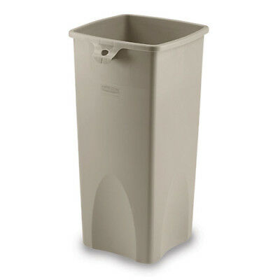 Rubbermaid FG356988GRAY Untouchable Container Square, 23 Gallon, Gray