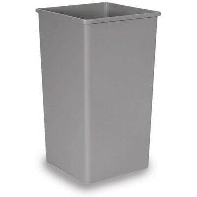 Rubbermaid FG395900GRAY Untouchable Container Square, 50 Gallon Cap., Gray
