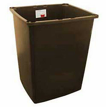 Rubbermaid FG256B00BRN 56 Gallon Container, Brown
