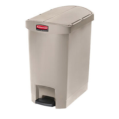 Rubbermaid Slim Jim 1883564 30L/8G Step Waste Bin, Red
