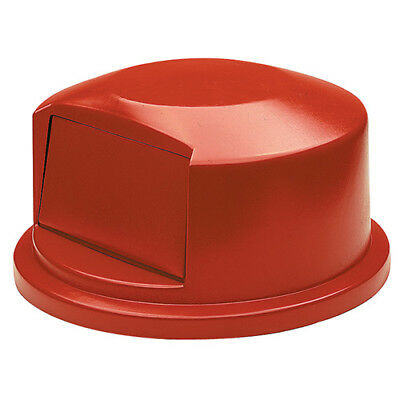 Rubbermaid FG263788RED Dome Lid For Round Brute Container 972-001, Red