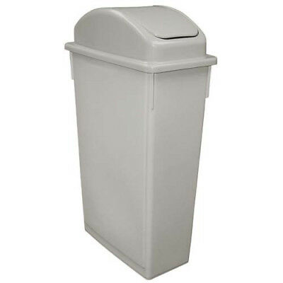 Value Series SSC-23G Value Space Save Waste Container, Gray