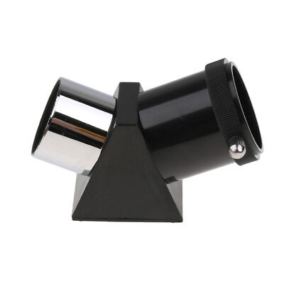 1.25 inch 45 Degree Prism Mirror Diagonal Adapter for Astronomy Telescope