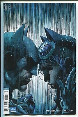 Batman #50 - Jim Lee Virgin Art Variant Cover - Dc Comics/2018