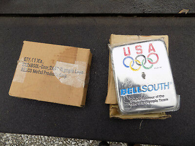 Payphone Bell South Olympic Telephone Western Electric Vault Door NOS in Box