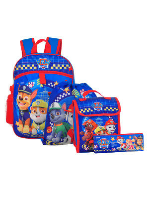 Paw Patrol 5-Piece Backpack Set