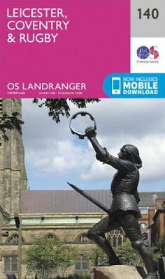 Leicester, Coventry & Rugby by Ordnance Survey 9780319262382