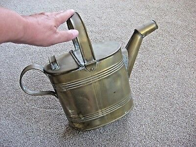 Antique / Vintage Brass Watering Can - Small - Retro / Chic Good Condition
