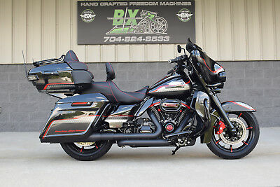 2017 Harley-Davidson Touring  2017 LIMITED ULTRA CVO SCREAMIN EAGLE **BAGGER** $30K IN XTRA'S!! 1 OF A KIND!!