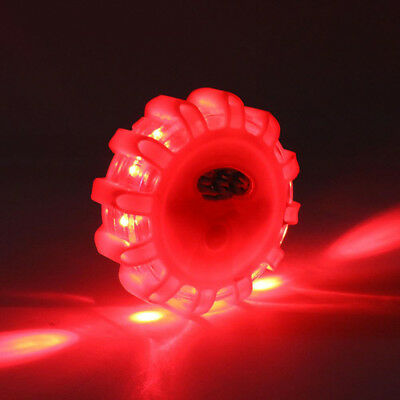 LED Road Flares Emergency Disc Roadside Safety Warning Light