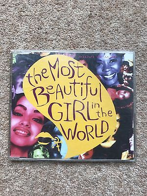 Prince 'The Most Beautiful Girl In The World' 1994 CD Single