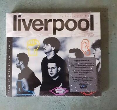 Frankie Goes to Hollywood - Liverpool (Deluxe 2 disc Edition; 2011) Rare, OOP